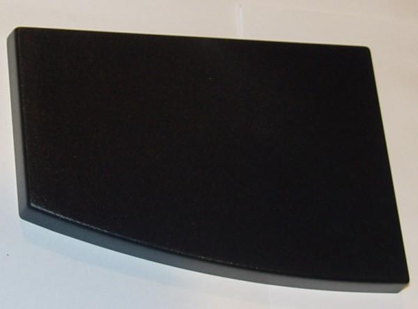 Pulverschachtdeckel schwarz