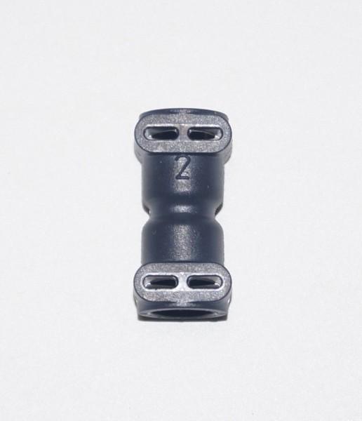 Fluid Anschluss I-Form kurz